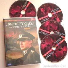 Series de TV: EL SECRETO NAZI DE LA FORTALEZA - SERIE COMPLETA - DVD II GUERRA MUNDIAL NAZIS -DES. D BOMBA ATÓMICA. Lote 121674983