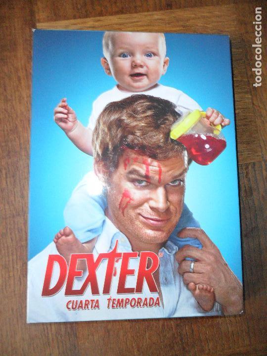 DEXTER CUARTA TEMPORADA COMPLETA + EXTRAS - DVD SERIE DE TV.