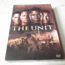 Cine: THE UNIT TEMPORADA 1 DVD - 4 DVDS - 20TH CENTURY FOX 2007. Lote 122049635