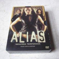 Cine: ALIAS SEGUNDA TEMPORADA DVD - 6 DVDS - TOUCHTONE 2004. Lote 122050703