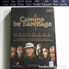 Series de TV: CAMINO DE SANTIAGO DVD SERIE TELEVISIÓN O PELÍCULA LARGA ANTHONY QUINN CHARLTON HESTON JUAN ECHANOVE. Lote 122589807