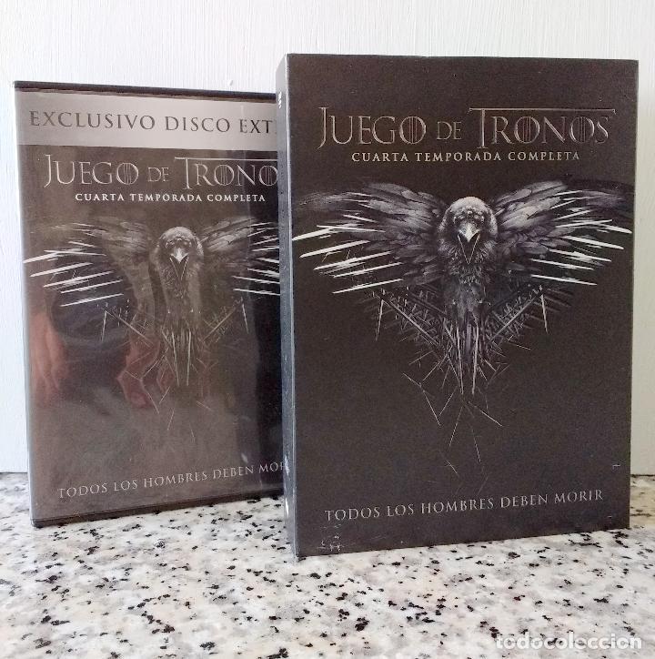 Juego de Tronos Cuarta Temporada Completa y Exclusivo Disco Extra