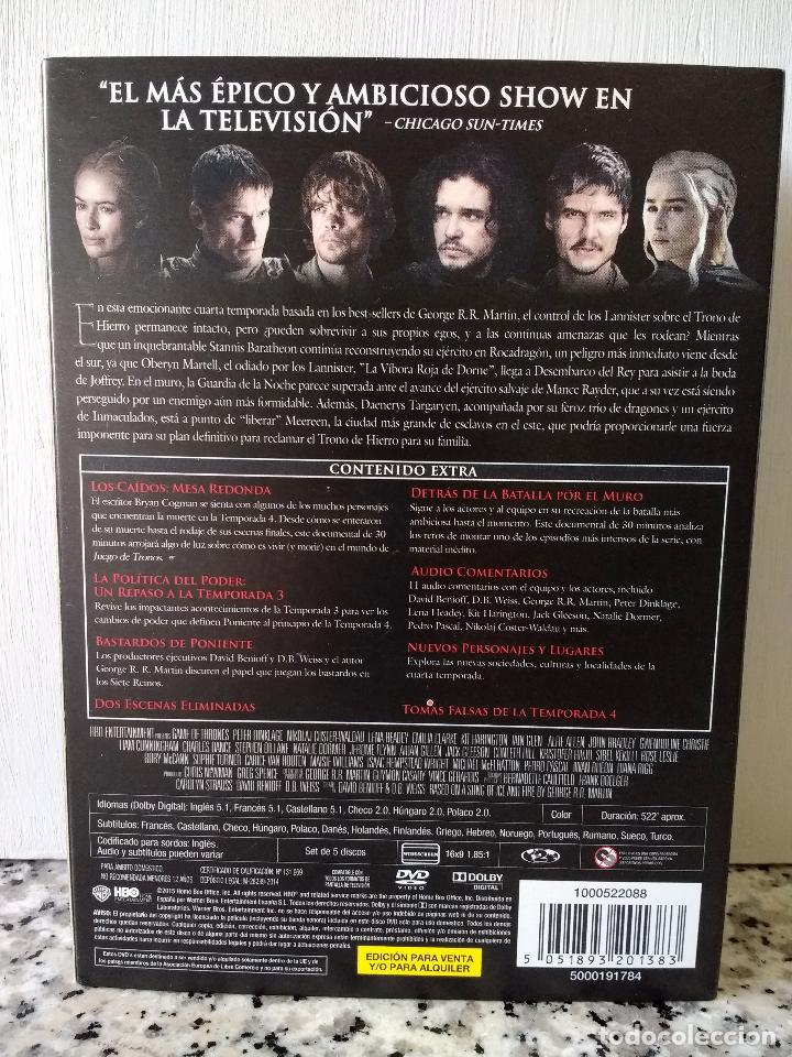 juego de tronos cuarta temporada completa y exc - Comprar Series de ...