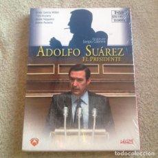 Series de TV: ADOLFO SUÁREZ EL PRESIDENTE DVD **TV MOVIE CONTIENE 2 DVD** NUEVA Y PRECINTADA**. Lote 122735027