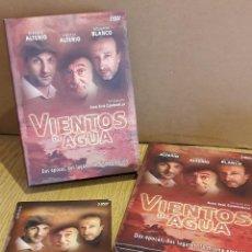 Cine: VIENTOS DE AGUA / DE JUAN JOSÉ CAMPANELLA / 5 DVD DE LUJO CON SU ESTUCHE. UNA JOYA !!!. Lote 122777695