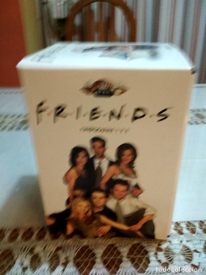 LOTE DOS TEMPORADAS DE LA SERIE FRIENDS EN DVD ORIGINALES (Series TV en DVD)