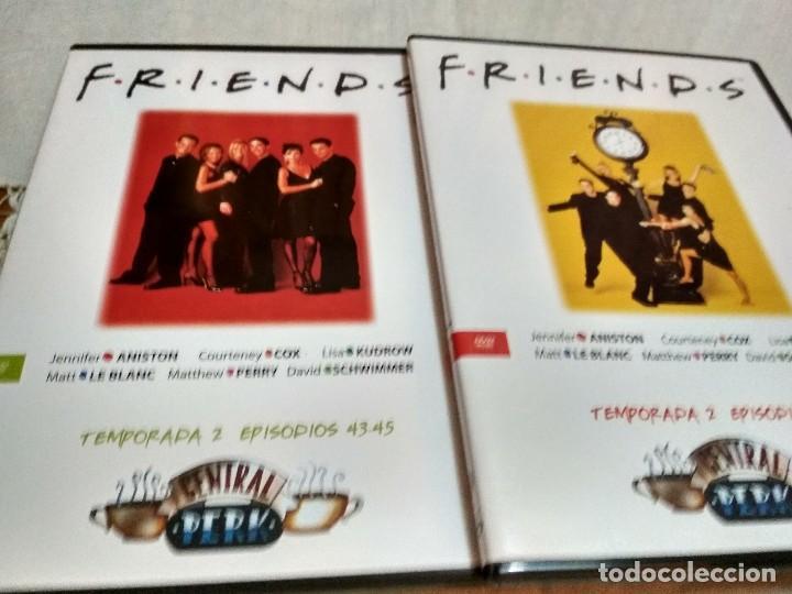Series de TV: LOTE DOS TEMPORADAS DE LA SERIE FRIENDS EN DVD ORIGINALES - Foto 2 - 122820831