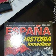 Series de TV: COLECCION DE 10 DVD , ESPAÑA HISTORIA INMEDIATA . 1800-1982 NUEVO. Lote 122825551
