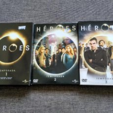 Series de TV: SERIE DVD HEROES - TEMPORADAS 1, 2 Y 3 -SPAIN. Lote 123571035