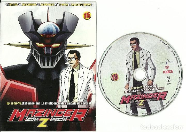 DVD - MAZINGER Z EPISODIO 15 - ¡EXHUMACION! ¡LA INTELIGENCIA DE COMBATE DE KEDORA! (Series TV en DVD)