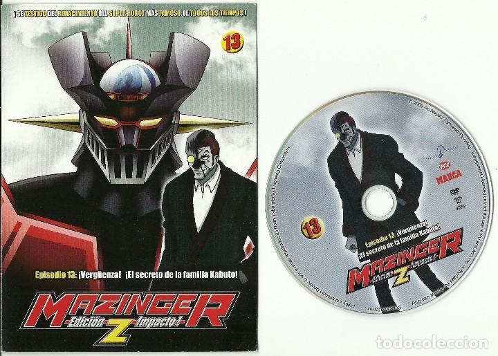DVD - MAZINGER Z EPISODIO 13 - ¡VERGUENZA! ¡EL SECRETO DE LA FAMILIA KABUTO! (Series TV en DVD)