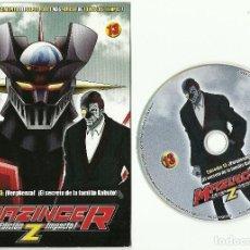 Cine: DVD - MAZINGER Z EPISODIO 13 - ¡VERGUENZA! ¡EL SECRETO DE LA FAMILIA KABUTO!. Lote 124394407