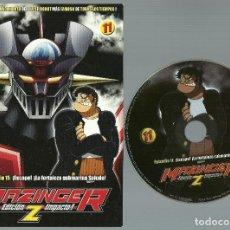 Cine: DVD - MAZINGER Z EPISODIO 11 - ¡LA FORTALEZA SUBMARINA SALUDE!. Lote 124394703