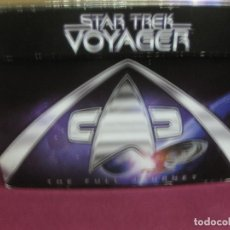 Cine: STAR TREK. VOYAGER. THE FULL JOURNEY. LAS 7 TEMPORADAS COMPLETAS EN 48 DVD. EN SU CAJA. Lote 125417843