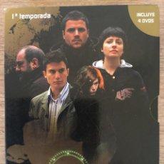 Series de TV: CUENTA ATRAS -EL TIEMPO CORRE EN TU CONTRA - PRIMERA TEMPORADA COMPLETA - 4 DVD . Lote 125831731
