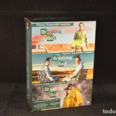 Series de TV: BREAKING BAD - PRIMERA, SEGUNDA Y TERCERA TEMPORADA COMPLETAS - DVD. Lote 126240583