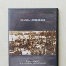 Series de TV: SEVILLA RECUPERADA 1. EL CINEMATÓGRAFO, ES EL NOTARIO DE NUESTRA HISTORIA. (DVD) - ARTESEROS, FERNA. Lote 126336034
