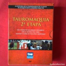 Series de TV: TAUROMAQUIA 2ª ETAPA. COMPLETO RECORRIDO HISTÓRICO MUNDO DEL TORO DENTRO FUERA Y NUESTRAS FRONTERAS. Lote 127457667