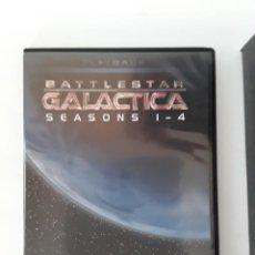 Series de TV: -GALACTICA BATTLESTAR -SEASONS 1-4+THE MINI SERIES -20 DVD-INGLES-. Lote 127770647