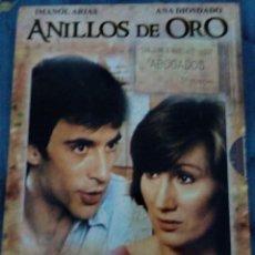 Cine: DVD SERIE COMPLETA ANILLOS DE ORO. Lote 127856407