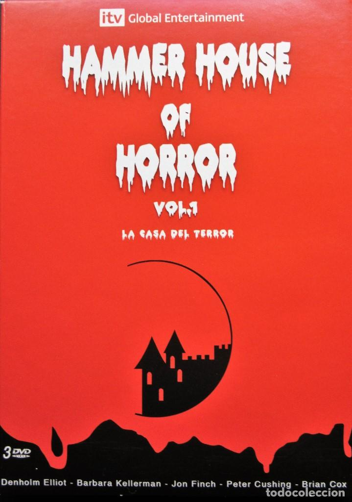 HAMMER HOUSE OF HORROR VOL.1 - 7 EPISODIOS (Series TV en DVD)