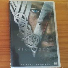 Séries de TV: VIKINGOS -DVD 3 DISCOS- PRIMERA TEMPORADA + EXTRAS SERIE TV. Lote 128128347