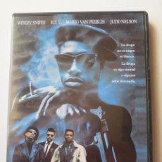 Cine: NEW JACK CITY (1991) (DVD). Lote 128236271