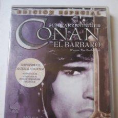 Cine: CONAN EL BÁRBARO (1982) (ED. ESPECIAL) (DVD). Lote 128237827