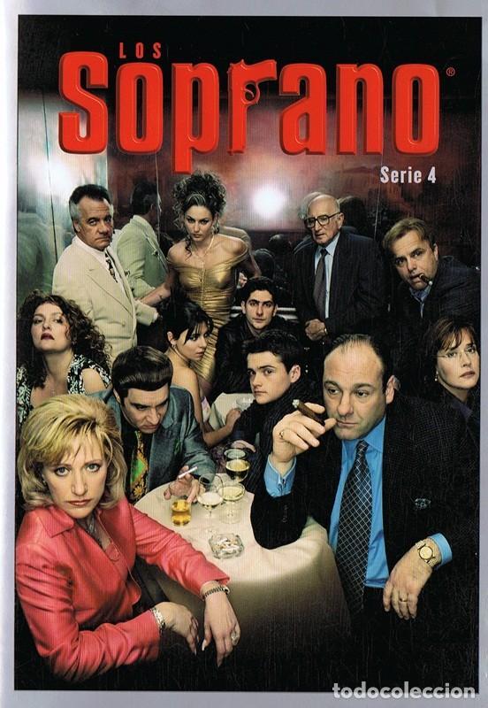 LOS SOPRANO SERIE 4 (4 DVD) (Series TV en DVD)