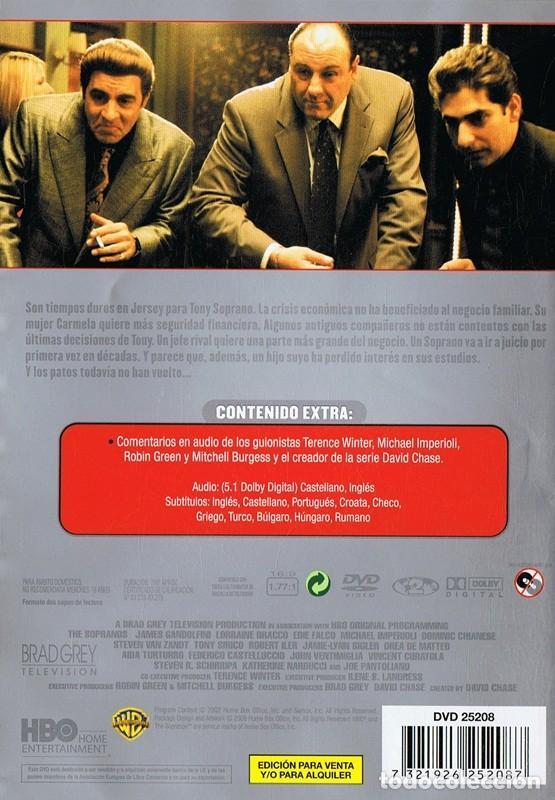 Series de TV: LOS SOPRANO SERIE 4 (4 DVD) - Foto 2 - 128640211