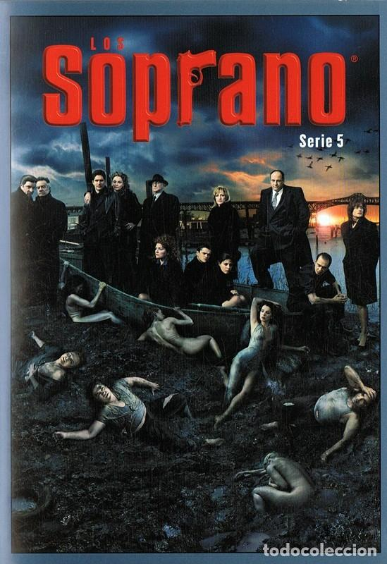 LOS SOPRANO SERIE 5 (4 DVD) (Series TV en DVD)