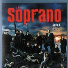 Series de TV: LOS SOPRANO SERIE 5 (4 DVD). Lote 128640419