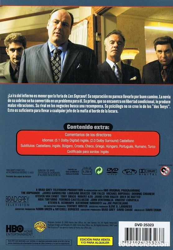 Series de TV: LOS SOPRANO SERIE 5 (4 DVD) - Foto 2 - 128640419