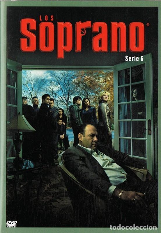 LOS SOPRANO SERIE 6 (4 DVD) (Series TV en DVD)