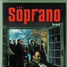 Series de TV: LOS SOPRANO SERIE 6 (4 DVD). Lote 128640611