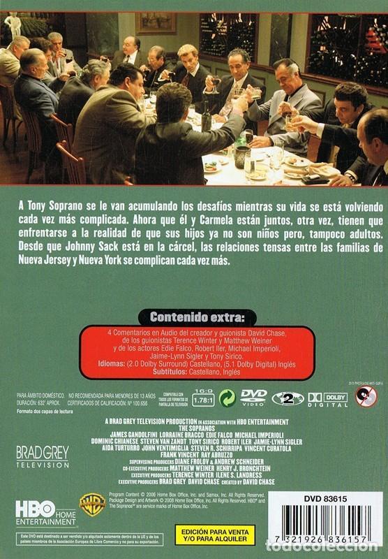 Series de TV: LOS SOPRANO SERIE 6 (4 DVD) - Foto 2 - 128640611