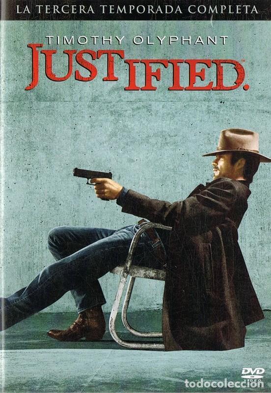 JUSTIFIED 3ª TEMPORADA COMPLETA TIMOTHY OLYPHANT ( 3 DVD) (Series TV en DVD)