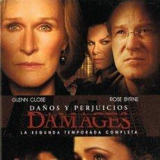 Series de TV: DAMAGES DAÑOS Y PERJUICIOS SEGUNDA TEMPORADA COMPLETA. Lote 128645287