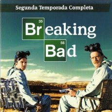 Series de TV: BREAKING BAD SEGUNDA TEMPORADA COMPLETA. Lote 128645571