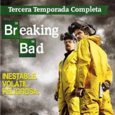 Series de TV: BREAKING BAD TERCERA TEMPORADA COMPLETA. Lote 128646339