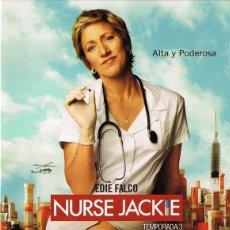 Series de TV: NURSE JACKIE TEMPORADA 3 (3 DVD). Lote 128646935