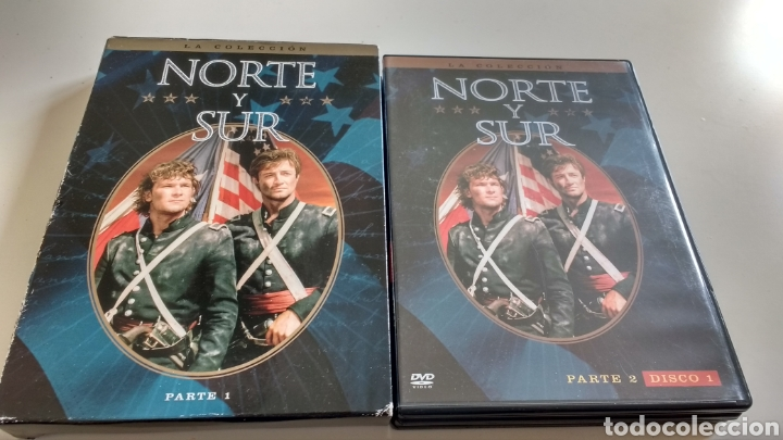 NORTE Y SUR PARTE 1 Y 2 (Series TV en DVD)