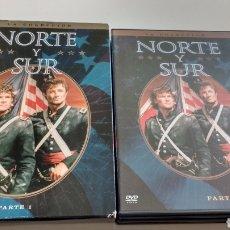 Series de TV: NORTE Y SUR PARTE 1 Y 2. Lote 129187734