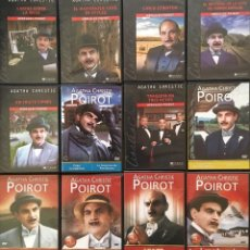 Cine: AGATHA CHRISTIE & HÉRCULE POIROT. DAVID SUCHET. 30 DVD'S. Lote 129286607