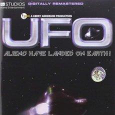 Series de TV: UFO (OVNI) GERRY ANDERSON COMPLETA CON 8 DVDS EN BUEN ESTADO CIENCIA FICCIÓN. SERIE DE CULTO. Lote 127216735