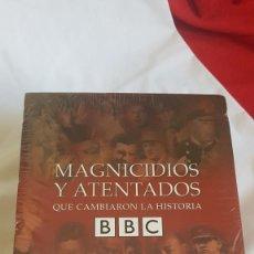 Series de TV: SERIE COMPLETA DE MAGNICIDIOS Y ATENTADOS. Lote 129373483