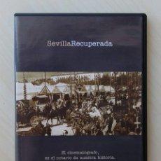 Series de TV: SEVILLA RECUPERADA 1. EL CINEMATÓGRAFO, ES EL NOTARIO DE NUESTRA HISTORIA. (DVD) - ARTESEROS, FERNA. Lote 129526820