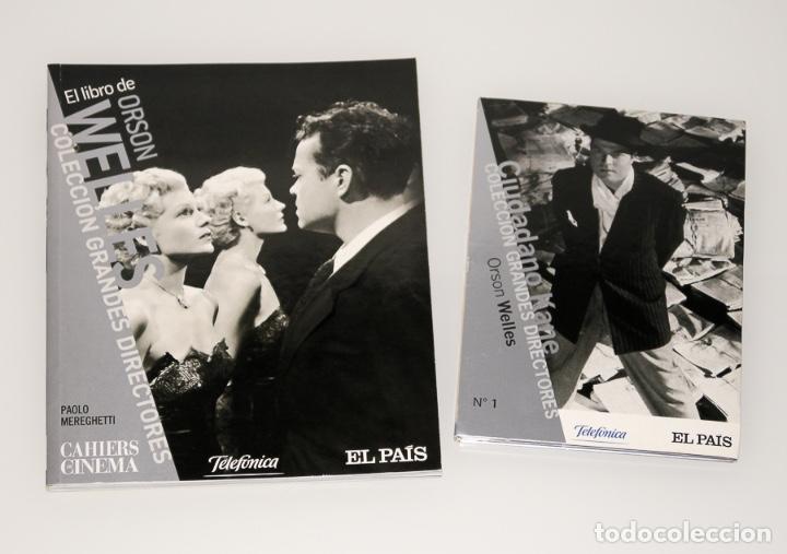 ORSON WELLS - COLECCIÓN GRANDES DIRECTORES Nº1 - LIBRO + DVD CIUDADANO KANE (Series TV en DVD)