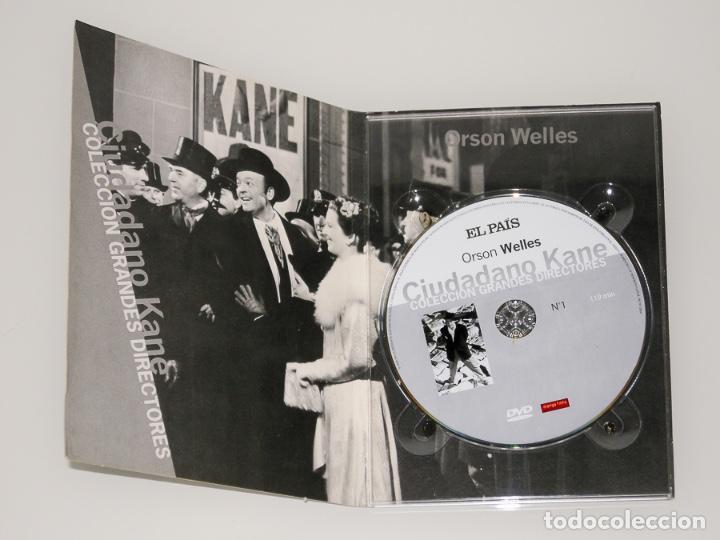 Series de TV: ORSON WELLS - COLECCIÓN GRANDES DIRECTORES Nº1 - LIBRO + DVD CIUDADANO KANE - Foto 2 - 129655239