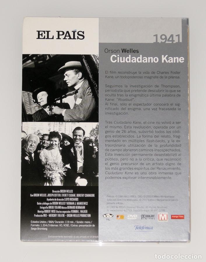 Series de TV: ORSON WELLS - COLECCIÓN GRANDES DIRECTORES Nº1 - LIBRO + DVD CIUDADANO KANE - Foto 3 - 129655239